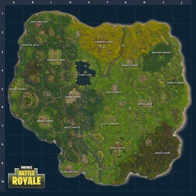 Mañana llegarán tres nuevas zonas a Fortnite