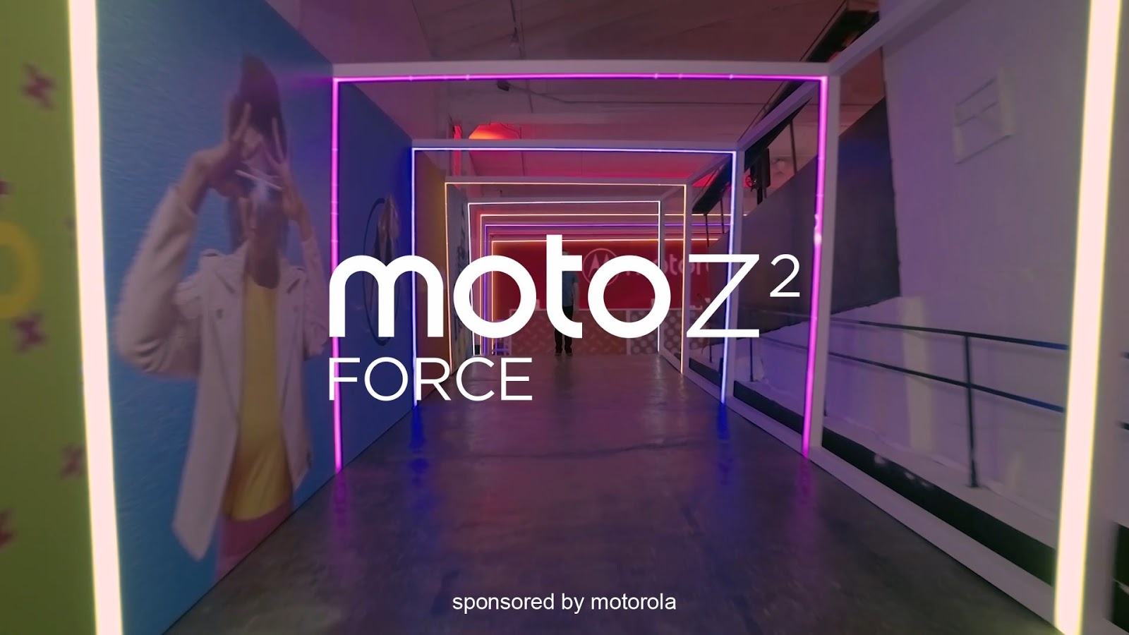 Motorola Z2 Force Edition Official Commerical featuring Raymond Strazdas