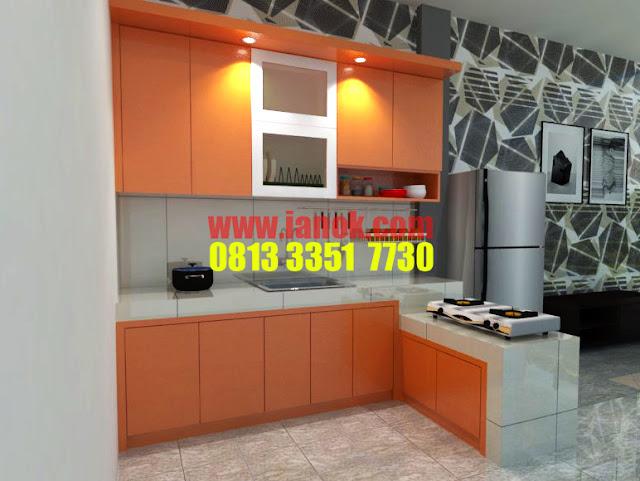 Desain kitchen set terbaru 2018