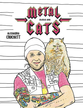 New Age Mama FINALLY A Coloring Book For Metalheads