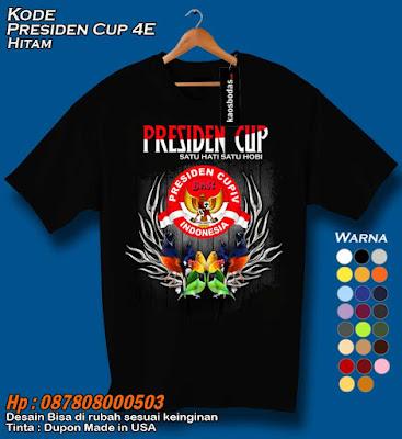 Kaos Presiden Cup 4E