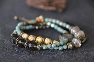 bracelet bohème turquoise