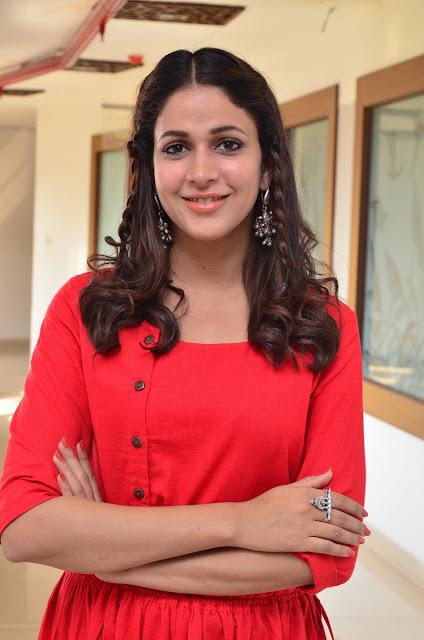 Lavanya Tripathi at Radha Movie Success Meet