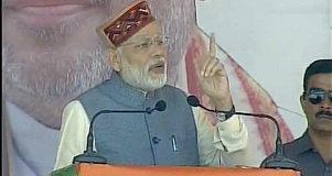 Modi in mandi himachal