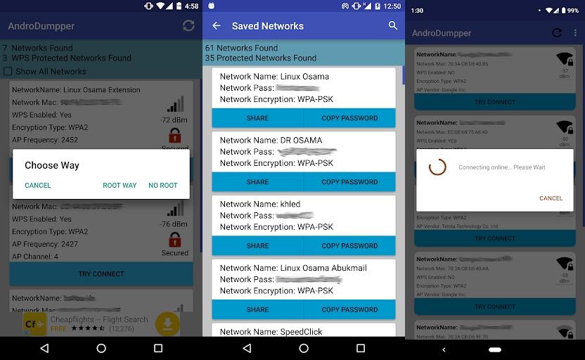 تحميل برنامج اختراق شبكة الواي فاي Wi-Fi للاندرويد بدون روت
