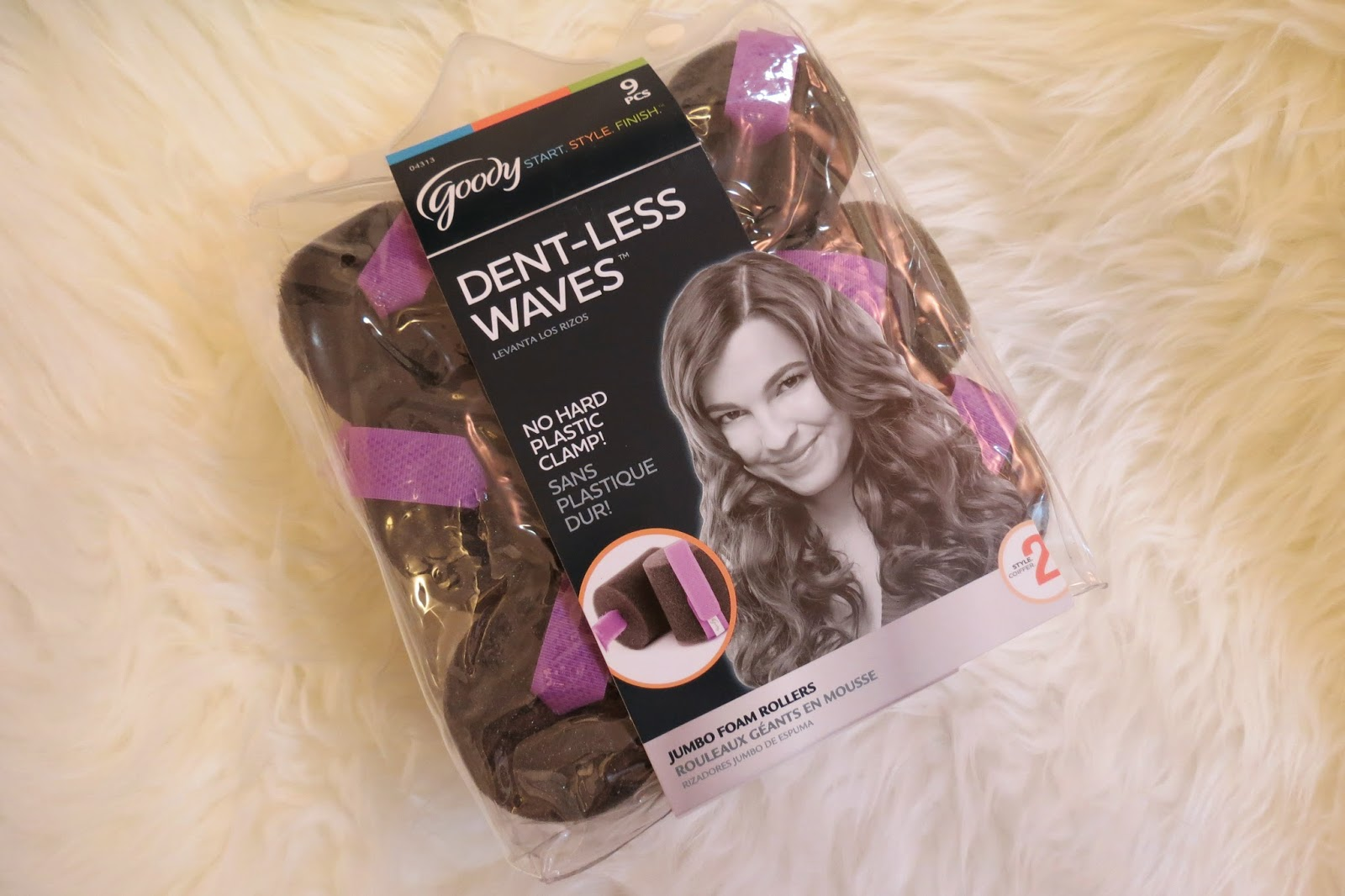 Goody Dent Less Waves Jumbo Foam Rollers Review
