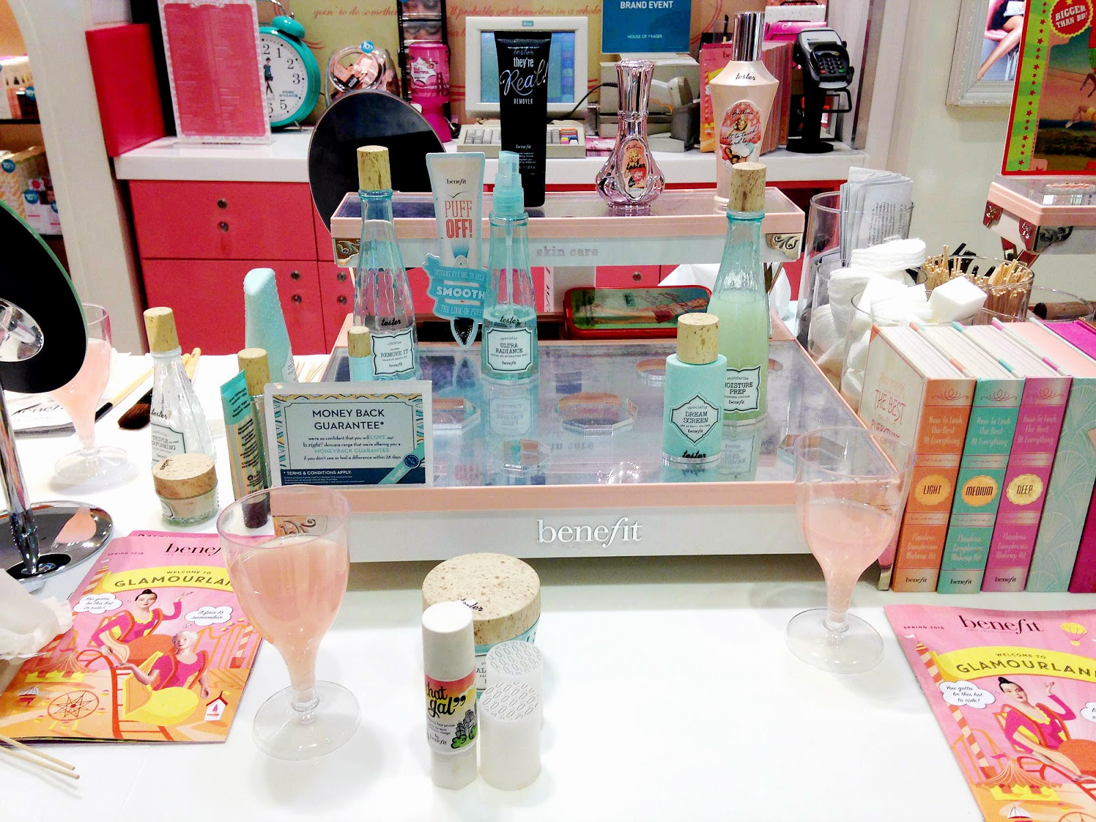 Benefit Bloggers Event