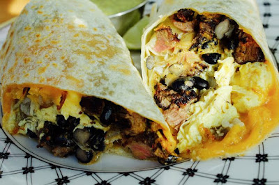 Mexican food Burritos
