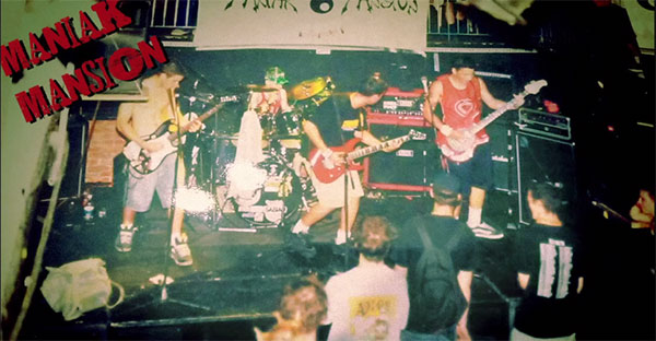 Maniak Mansion, fast and tech skate punk from Canada