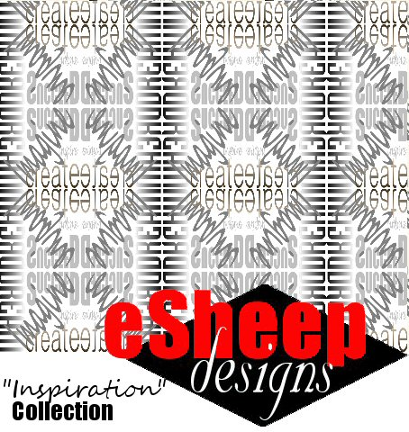 Inspiration Fabric Collection by eSheep Designs