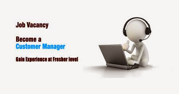 Work as Customer Manager