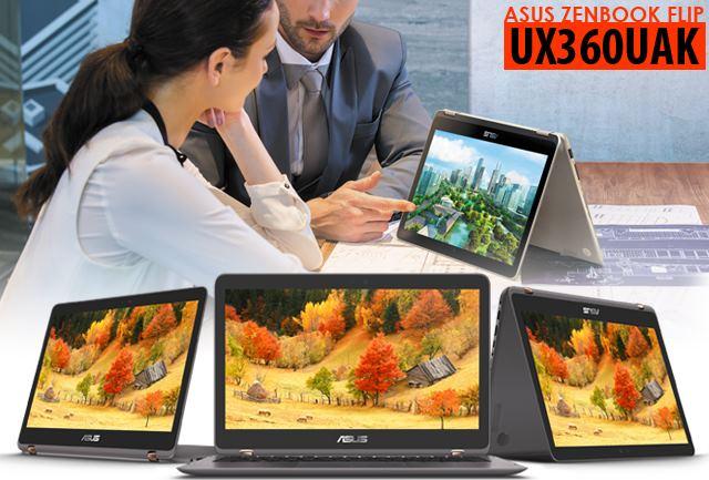 """ZENBOOK FLIP UX360UAK """" Ultrabook Terkini Dengan Intel Kaby Lake """""""