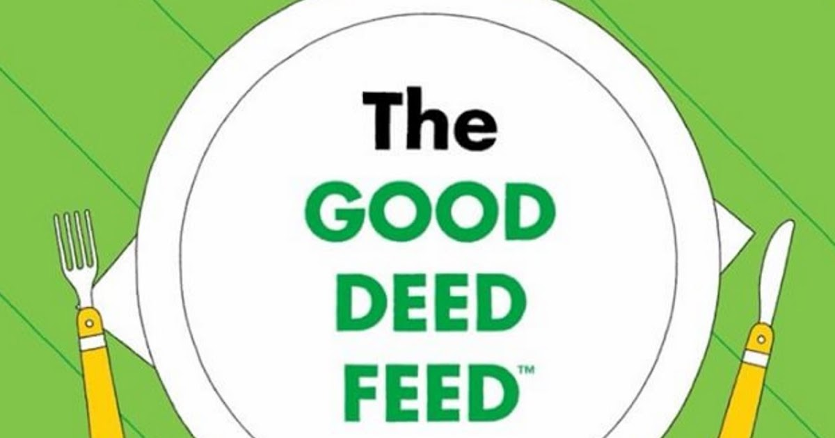 feed the deed Feed the deed has spread exponentially and into other countries, like the us and mexico, with stern estimating that more than 1,000 good deeds were recorded in only a couple of weeks.