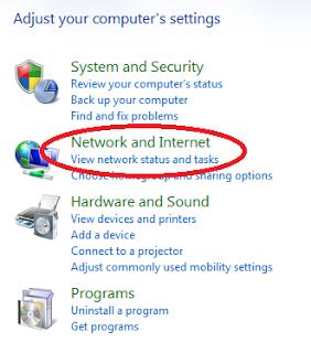 how to change modem ip address windows 8