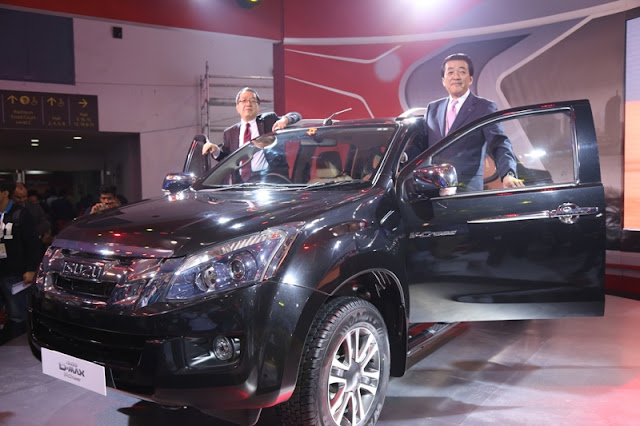 Isuzu D-MAX V-Cross India