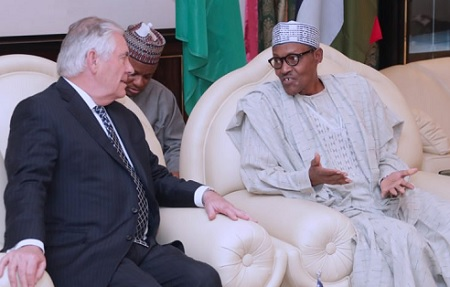 Rex Tillerson and Buhari