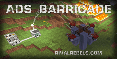 Barricade features 4 ADS trays