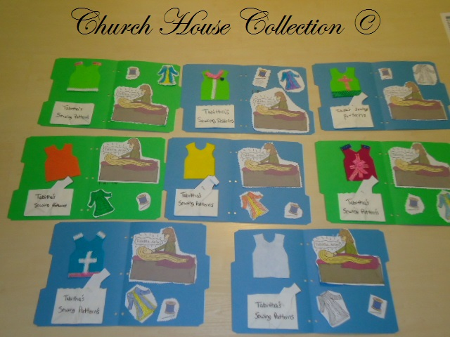 church house collection blog the life of tabitha dorcas lapbook tabitha raised from the dead. Black Bedroom Furniture Sets. Home Design Ideas