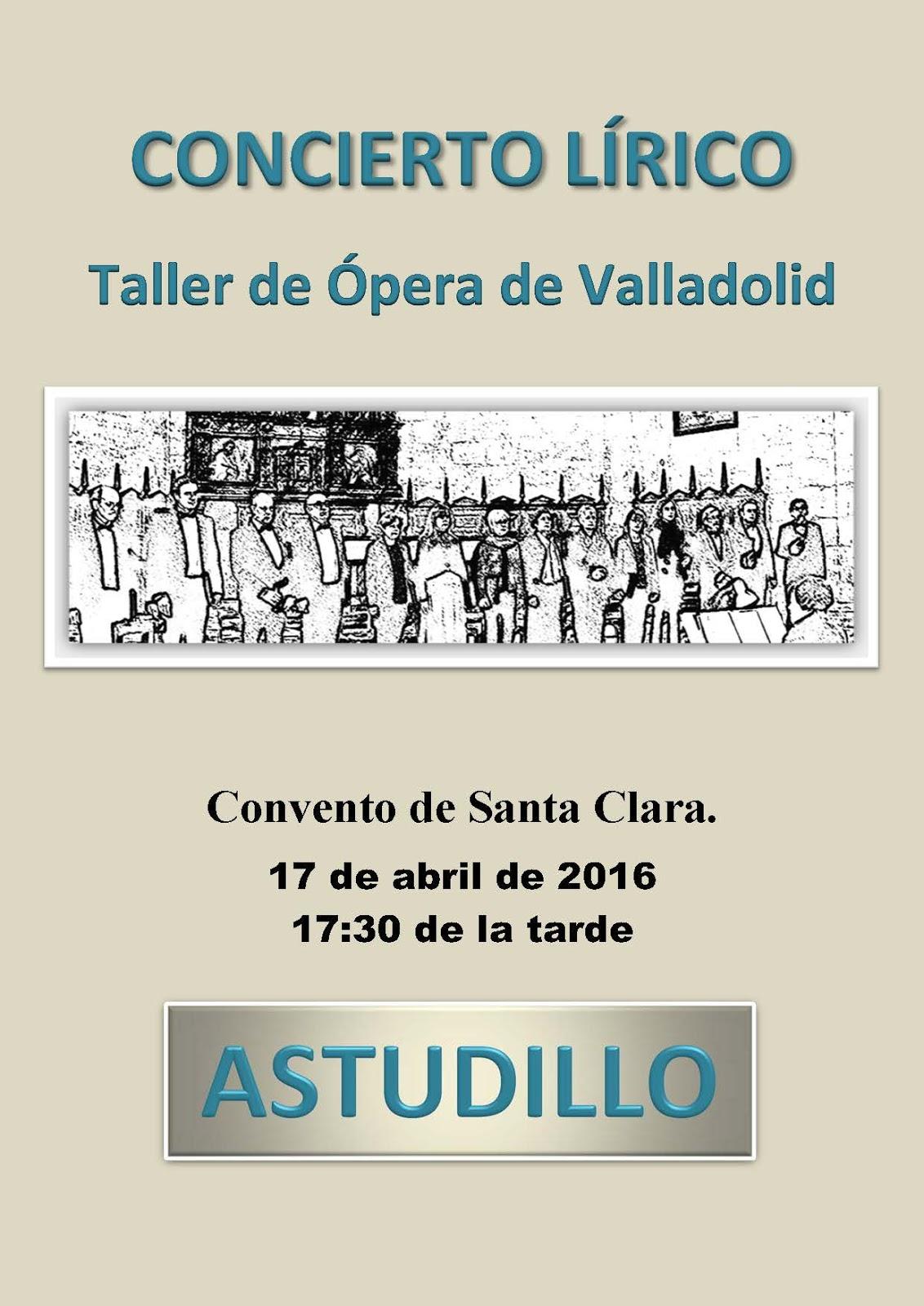 Turismo astudillo concierto taller de pera de valladolid for Oficina de turismo de valladolid