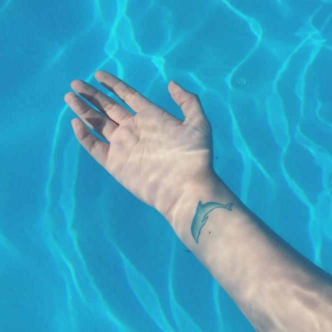 18 lindas tatuagens para quem adora curtir o mar