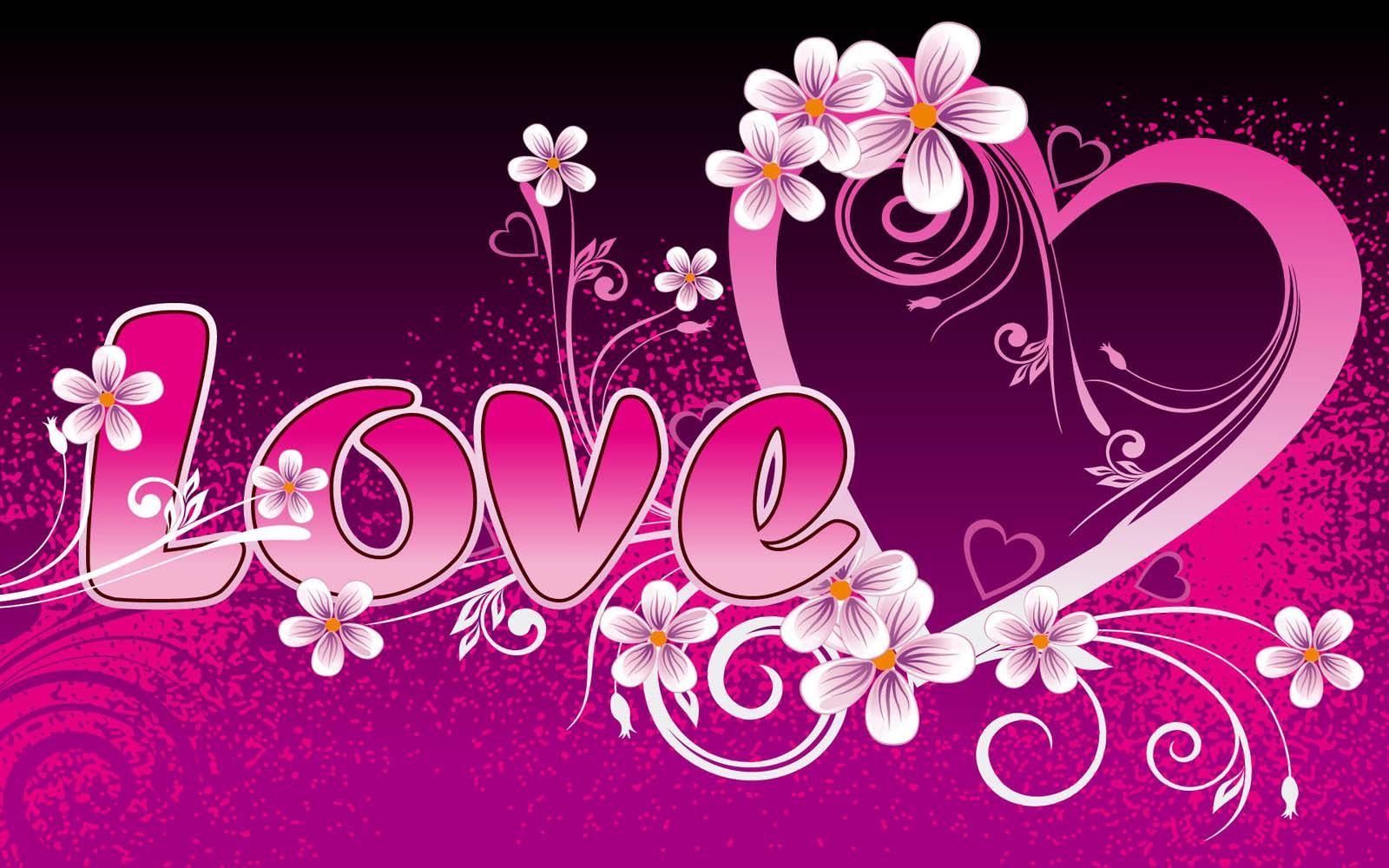 Wallpaper Simbol Love Yang Keren