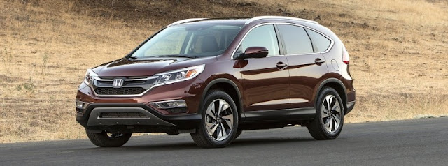 2015 Honda CR-V burgundy