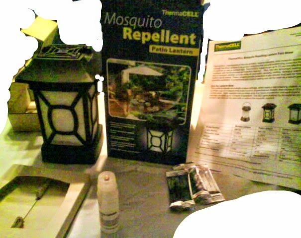 Cassandra M's Place: ThermaCell Mosquito Repellent Patio