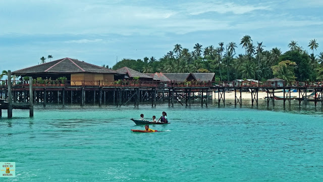 isla de Mabul (Borneo)