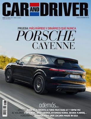 Revista Car and Driver España Diciembre 2017