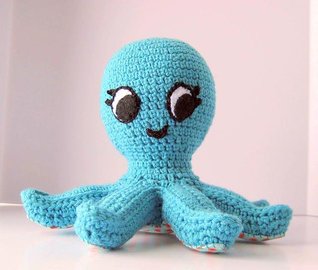 Baby octopus Crochet pattern