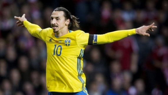 Sweden's biggest goal threat - Zlatan Ibrahimovic