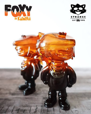 Five Points Festival 2018 Exclusive Foxy in Kawaii Caramel Delight Edition Vinyl Figure by Wetworks x Strange Cat Toys