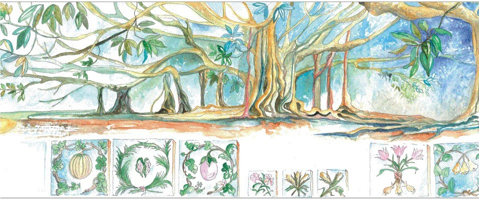 Wandering the exotic gardens of Palermo | Urban Sketchers