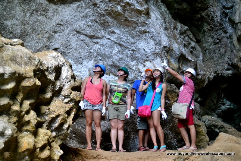 the tour group at Ugong Rock Adventures in Puerto Princesa