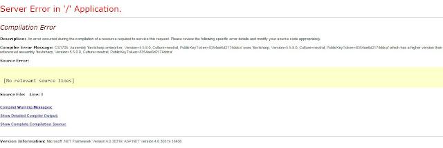 itextsharp.xmlworker and itextsharp error higher version