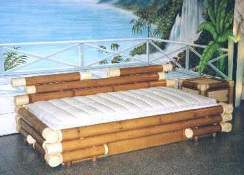 model tempat tidur bambu 1