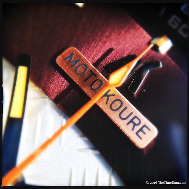 Moto Koure MK I MechaQuartz Burgundy Dial