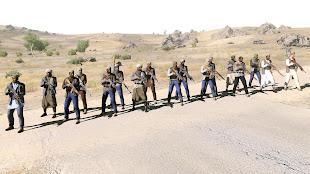 Arma3用CUP MODのタキスタン歩兵ユニット