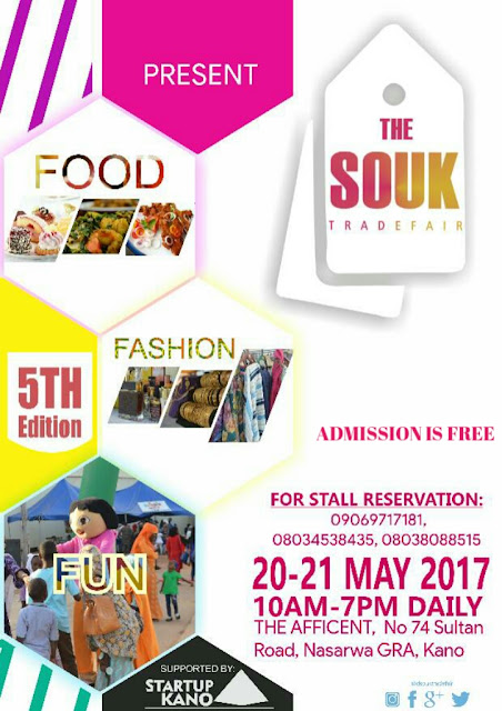 THE FIFTH EDITION OF THE SOUK TRADEFTHE FIFTH EDITION OF THE SOUK TRADEFAIR SET HOLD IN KANOAIR SET HOLD IN KANO
