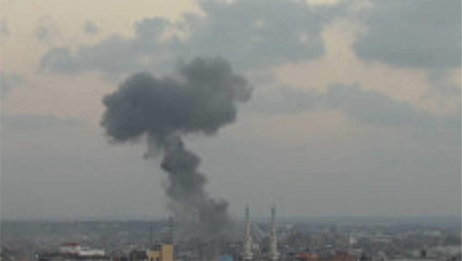Pesawat tempur Israel menyerang pos pengamatan Hamas