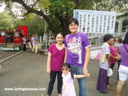 March for Jesus Bacolod - family