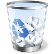 Periksa Recycle bin