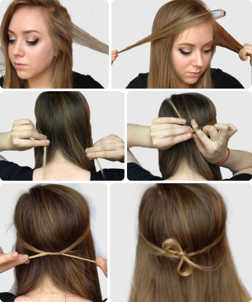 Quick and Easy Hairstyles for College Girls 2016-17 ~ F7view