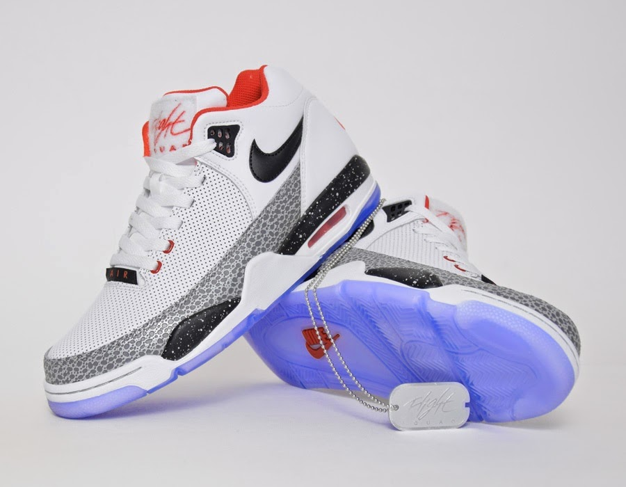 best cheap ac10f fcc0d The trainer may look like a classic but is an entirely new design although  Nike lovers will recognise the Nike Air Jordan 4 sole and the heel and  ankle ...