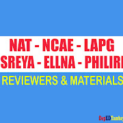NAT, NCAE, LAPG, SREYA, ELNA and PHIL-IR Materials and Reviewers
