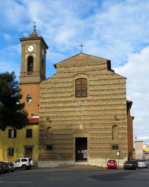 The church of San Ferdinando, also knoiwn as Crocetta, Piazza Anita Garibaldi, Livorno