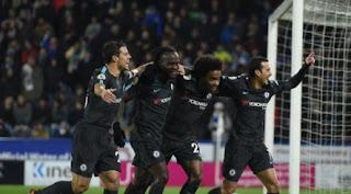 Huddersfield Town  1 : 3  Chelsea
