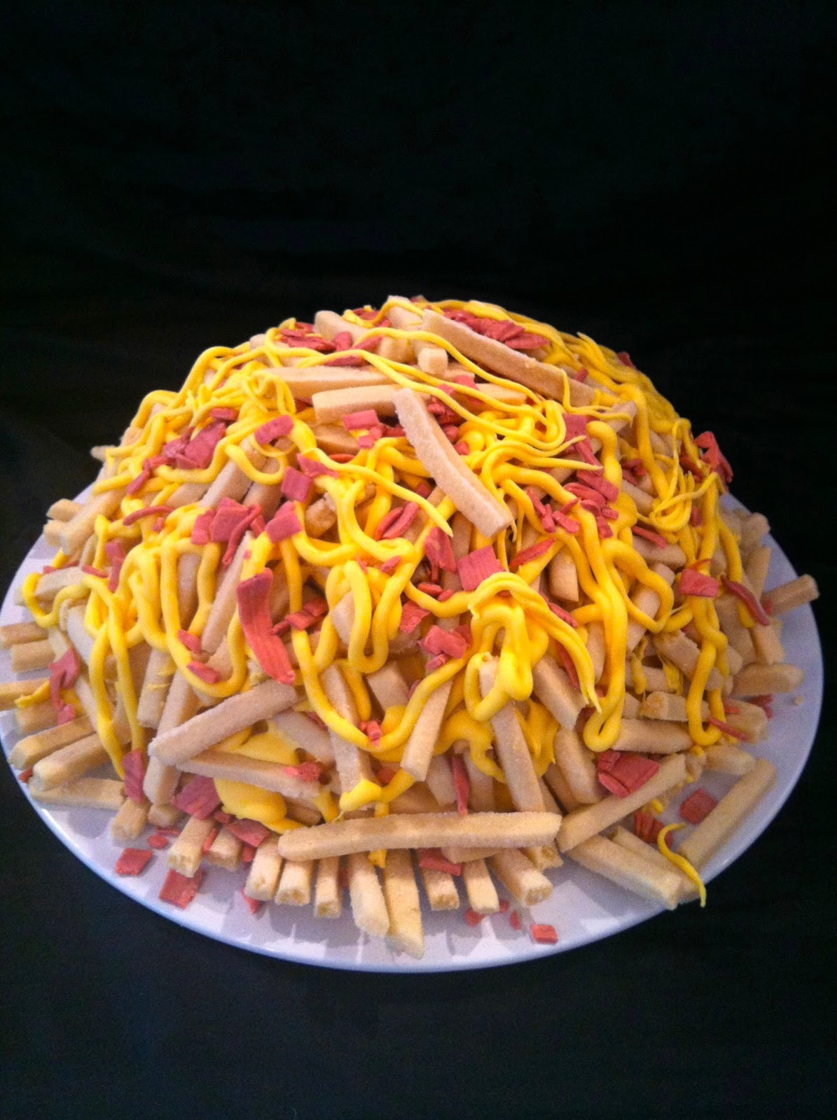 A Little Something Sweet Pile Of Fries Cake