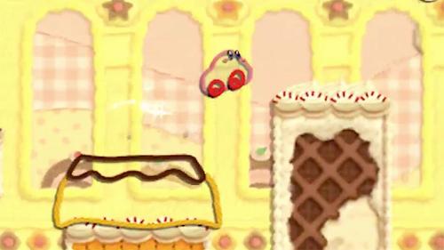 Kirby's Extra Epic Yarn Gameplay