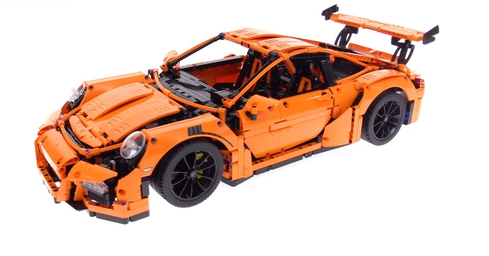 lego technic porsche 911 gt3 rs video review 42056. Black Bedroom Furniture Sets. Home Design Ideas